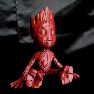 Recycled 3D printing filament Nefila HIPS burgundy