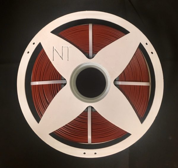 3D printer recycled Nefila PETG filament