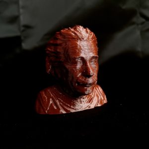 Recycled 3D printing filament Nefila PETG burgundy